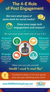 4E Rules for Post Engagement